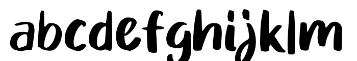 Mikadoby Font LOWERCASE
