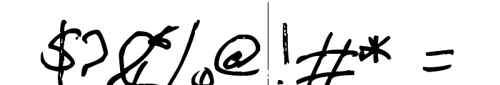 Mikeodial Font OTHER CHARS