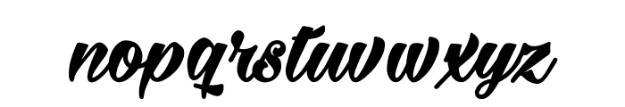 Milasian Bold PERSONAL Font LOWERCASE