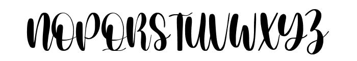 Milcandy Font UPPERCASE