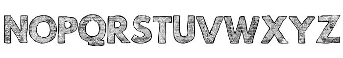 Mild Life Textured Font UPPERCASE