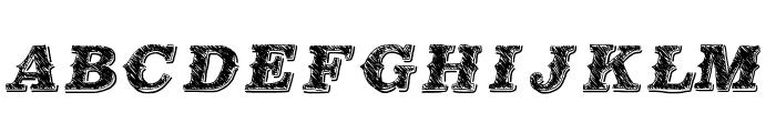 MildEast Font UPPERCASE