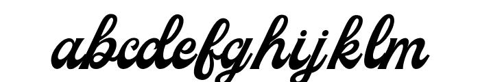 Milestone Free Version Script Font LOWERCASE