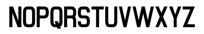 Milestone One Font UPPERCASE