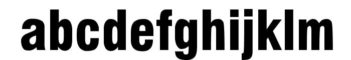 Milford Black Font LOWERCASE