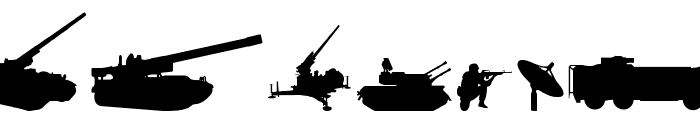 Military RPG Font OTHER CHARS