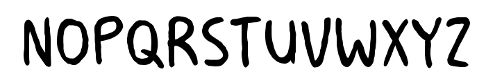 Milk Mustache BB Font LOWERCASE
