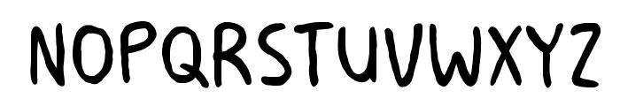 MilkMustacheBB Font LOWERCASE