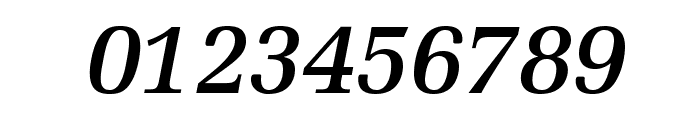 MillOpti-MediumItalic Font OTHER CHARS