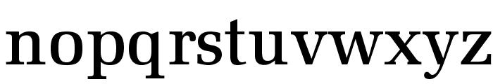 MillOpti-Medium Font LOWERCASE