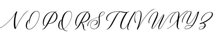 Millerstone DEMO Regular Font UPPERCASE