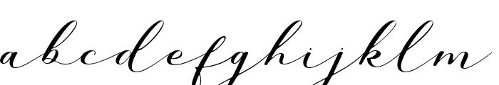 Millerstone DEMO Regular Font LOWERCASE