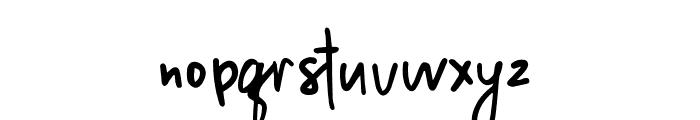 MillionNotes Font LOWERCASE