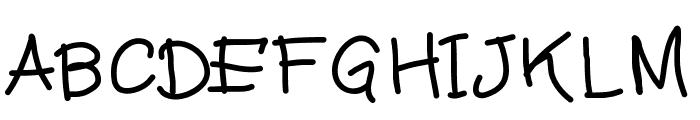 MiloScript Font UPPERCASE
