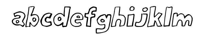 Milord Italic Font LOWERCASE