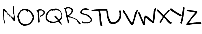 Milo's Grade 7 Font UPPERCASE