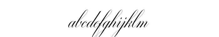 MiltonTwoBold Font LOWERCASE