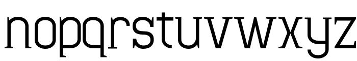 Minaeff Ect Font LOWERCASE