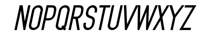 MindBlue Bold Italic Font UPPERCASE