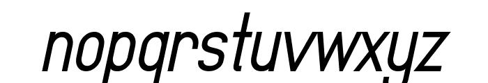 MindBlue Bold Italic Font LOWERCASE