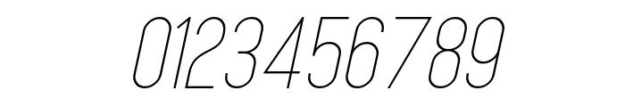 MindBlue Light Italic Font OTHER CHARS