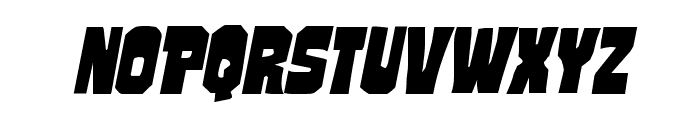 Mindless Brute Italic Font LOWERCASE