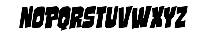Mindless Brute Rotalic Font UPPERCASE