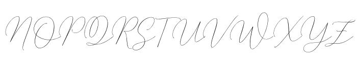 MindlineSlantDemo Font UPPERCASE