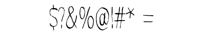 Mindmonkey Font OTHER CHARS