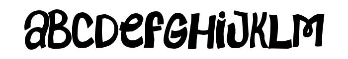 MindsAlike-Regular Font UPPERCASE