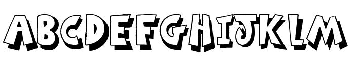 Ming in Bling Font UPPERCASE