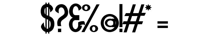 Minguarana Font OTHER CHARS