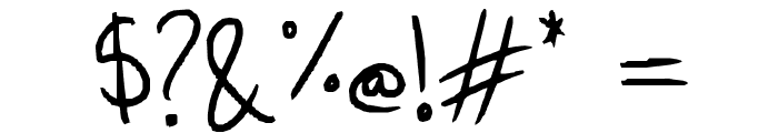 Mini-Capitals Font OTHER CHARS