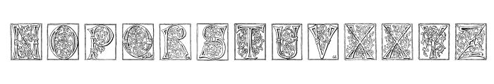 Miniature-Caps Font UPPERCASE