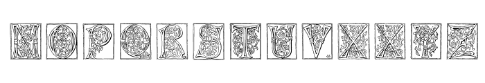 Miniature-Caps Font LOWERCASE