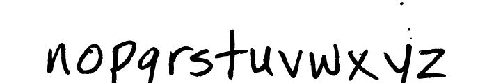 Minneapolis Font LOWERCASE