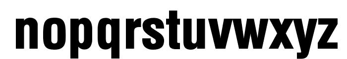 Minnesota Normal Font LOWERCASE