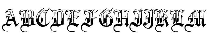 Minnesota Winter Regular Font UPPERCASE