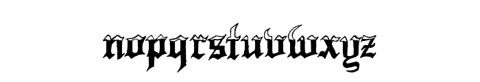 Minnesota Winter Regular Font LOWERCASE