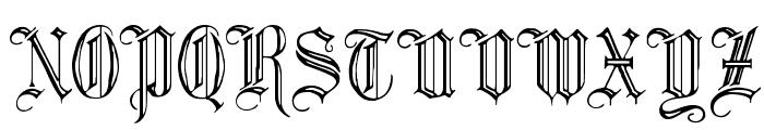 Minster No 2 Font UPPERCASE