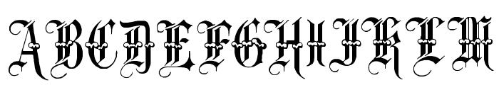 Minster No 3 Font UPPERCASE