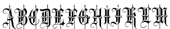Minster No 4 Font UPPERCASE