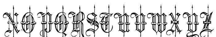 Minster6 Font UPPERCASE