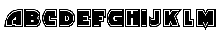 Minstrel Poster Two NF Font LOWERCASE