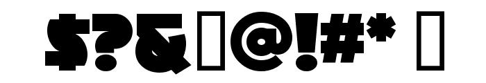 MinstrelPosterWHG Font OTHER CHARS