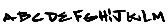 MintGreenlaces Font UPPERCASE