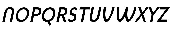 MintSpirit-BoldItalic Font UPPERCASE