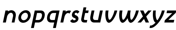 MintSpirit-BoldItalic Font LOWERCASE