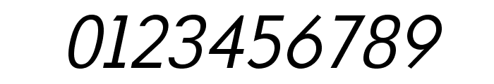 MintSpirit-Italic Font OTHER CHARS