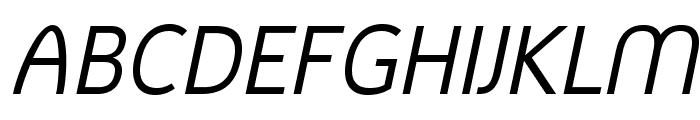 MintSpirit-Italic Font UPPERCASE